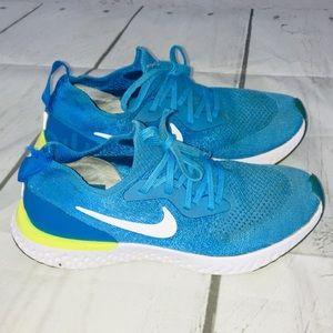 Boys/Girls Youth 6.5 Nike Flyknit Epic React Shoes